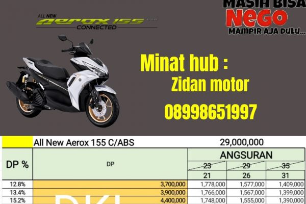 all new Aerox 155 S abs
