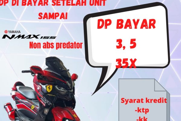 all new nmax non abs predator